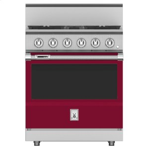 "Hestan30"" 4-Burner Dual Fuel Range - KRD Series - Tin-roof"