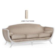 Empire Style Sofa (Limed Tulip Wood/MAZO)
