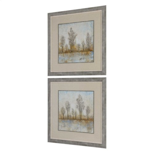 Quiet Nature Framed Prints, S/2