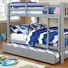 Cameron Full/full Bunk Bed, Gray Product Image