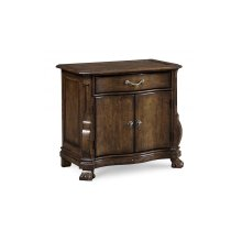 Continental Nightstand - Weathered Nutmeg