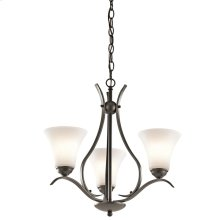 Keiran Collection 3 Light Chandelier - Olde Bronze OZ