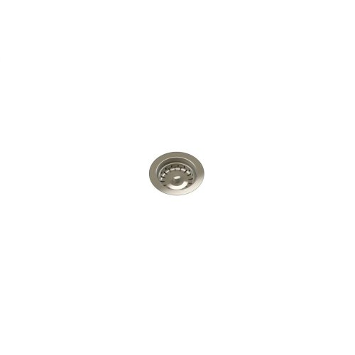 "Drain 100122 - Stainless steel sink accessory , Satin Nickel, 3 1/2"""