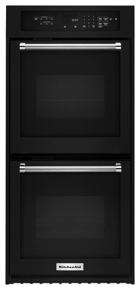 Kodc304ebl Kitchenaid 24 Quot Double Wall Oven With True