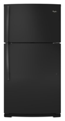 Closeout Whirlpool® 21 cu. ft. Top-freezer refrigerator with Can Caddy