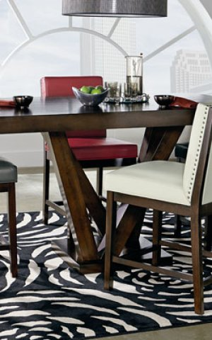 Uph Grey Ct Ht Chair