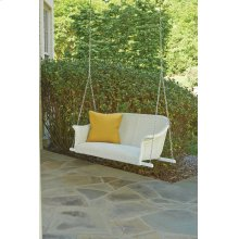 All Seasons Settee Swing with Padded Seat