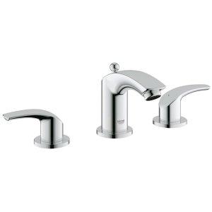 "Eurosmart 8"" Widespread Two-Handle Bathroom Faucet S-Size"