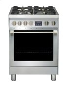 """24"""" (60cm) stainless steel slide-in dual fuel range Product Image"""