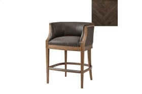 Orlando Bar Chair, Dark Echo Oak