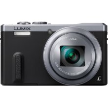 REFURBISHED LUMIX DMC-ZS40 30X Super Zoom 18.1mp Travel Digital Camera Bundle- Silver