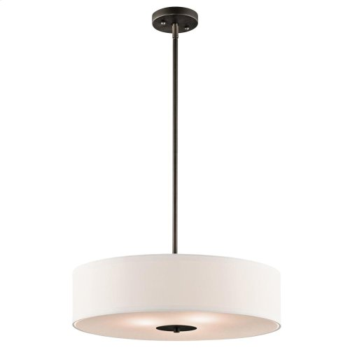 3 Light Semi Flush/Pendant - 42121NI
