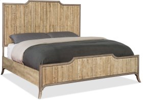 Urban Elevation California King Wood Panel Bed