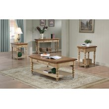 2-Drawer Coffee Table, 1-Drawer End Table $174.00, 2-Drawer Sofa Table $262.00 and 1-Drawer Chairside Table $144.00