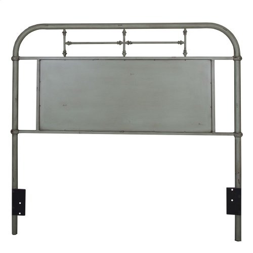 Full Metal Headboard - Green