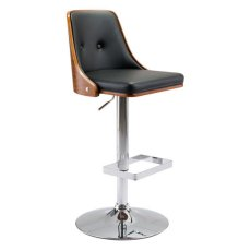 Scooter Bar Chair Black Product Image