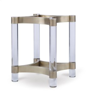 Acrylic & Metal Dining Table Base for Glass Tops