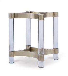 Acrylic & Metal Dining Table Base