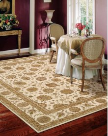 Nourison 3000 3105 Iv Rectangle Rug 2'6'' X 4'2''