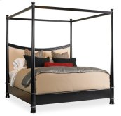 Chin Hua Foshan Canopy Bed With Uph King Size 6/6