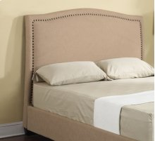 Headboard 6/6 Upholstered Beige