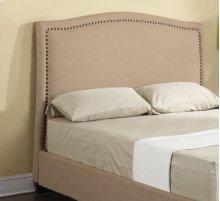 Headboard 5/0 Upholstered Beige
