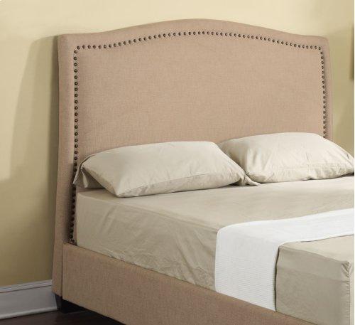 Headboard 6/6 Upholstered Beige