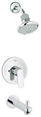 Eurosmart Cosmopolitan Pressure Balance Valve Bathtub/Shower Combo Faucet Product Image