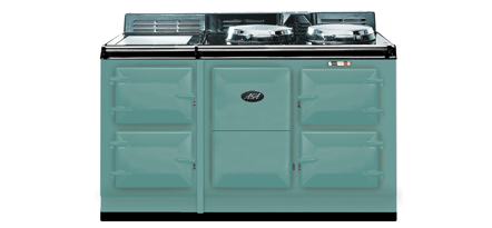 Pistachio 4-Oven AGA Cooker (electric) Electric fuelled cast-iron cooker