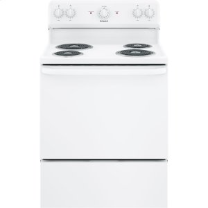 "HotpointHotpoint® 30"" Free-Standing Electric Range"