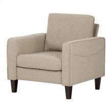 Sofa, 1-Seat - Oatmeal Beige