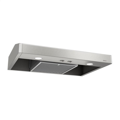 Tenaya 36-inch 250 CFM Stainless Steel Under-Cabinet Range Hood with light