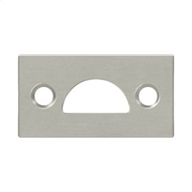 Mortise Strike, Solid Brass - Brushed Nickel
