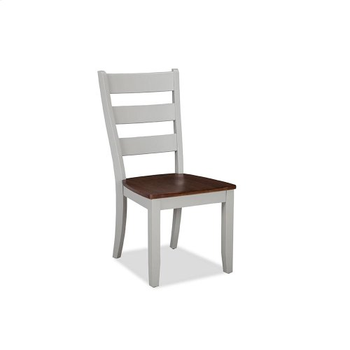 Dining - Small Space Ladder Back Side Chair
