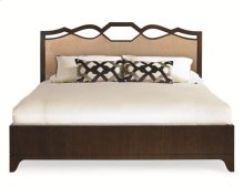 Ogee Upholstered Headboard Queen Size 5/0