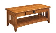 Mission Coffee Table Large