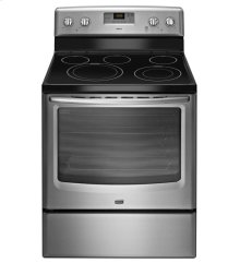 6.2 cu. ft. Capacity Electric Range with Precision Cooking System