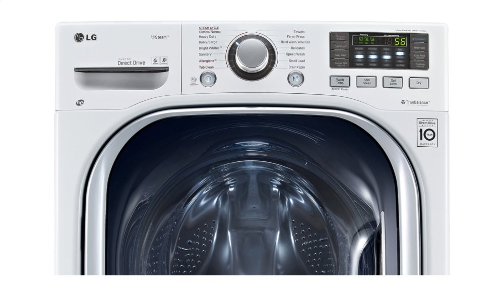 Wm3997hwa Lg Appliances Front Load Washer Dryer Combo