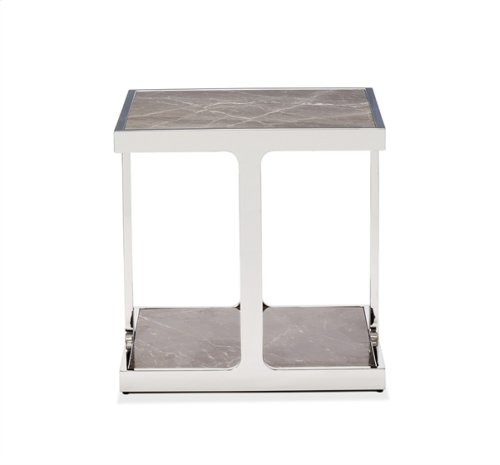 Soto Square Side Table - Marble