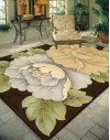 Tropics Ts09 Brn Rectangle Rug 7'6'' X 9'6''