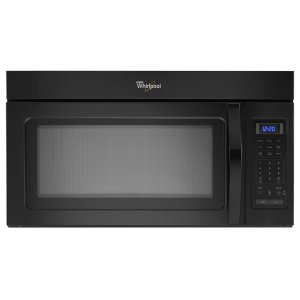 1.7 cu. ft. Over the Range Microwave with Hidden Vent - BLACK