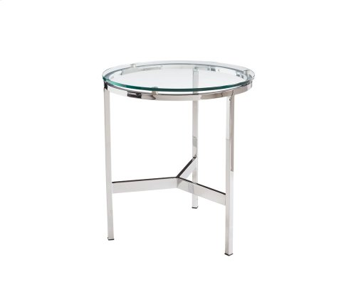 Flato End Table - Stainless Steel
