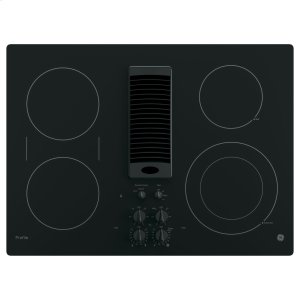 "GE ProfileSeries 30"" Downdraft Electric Cooktop"