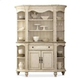 Coventry Server Hutch Dover White finish