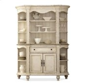 Coventry Server Hutch Dover White finish Product Image
