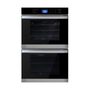 Stainless Steel European Convection Built-In Double Wall Oven -