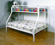 Twin/ Full Metal Bunkbed