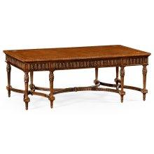 Napoleon III Style Coffee Table with Fine Inlay