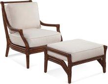 Inveran Chair and Ottoman