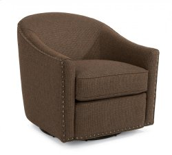 Kedzie Fabric Swivel Chair Product Image